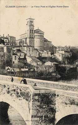 Carte Postale Vieux Clisson