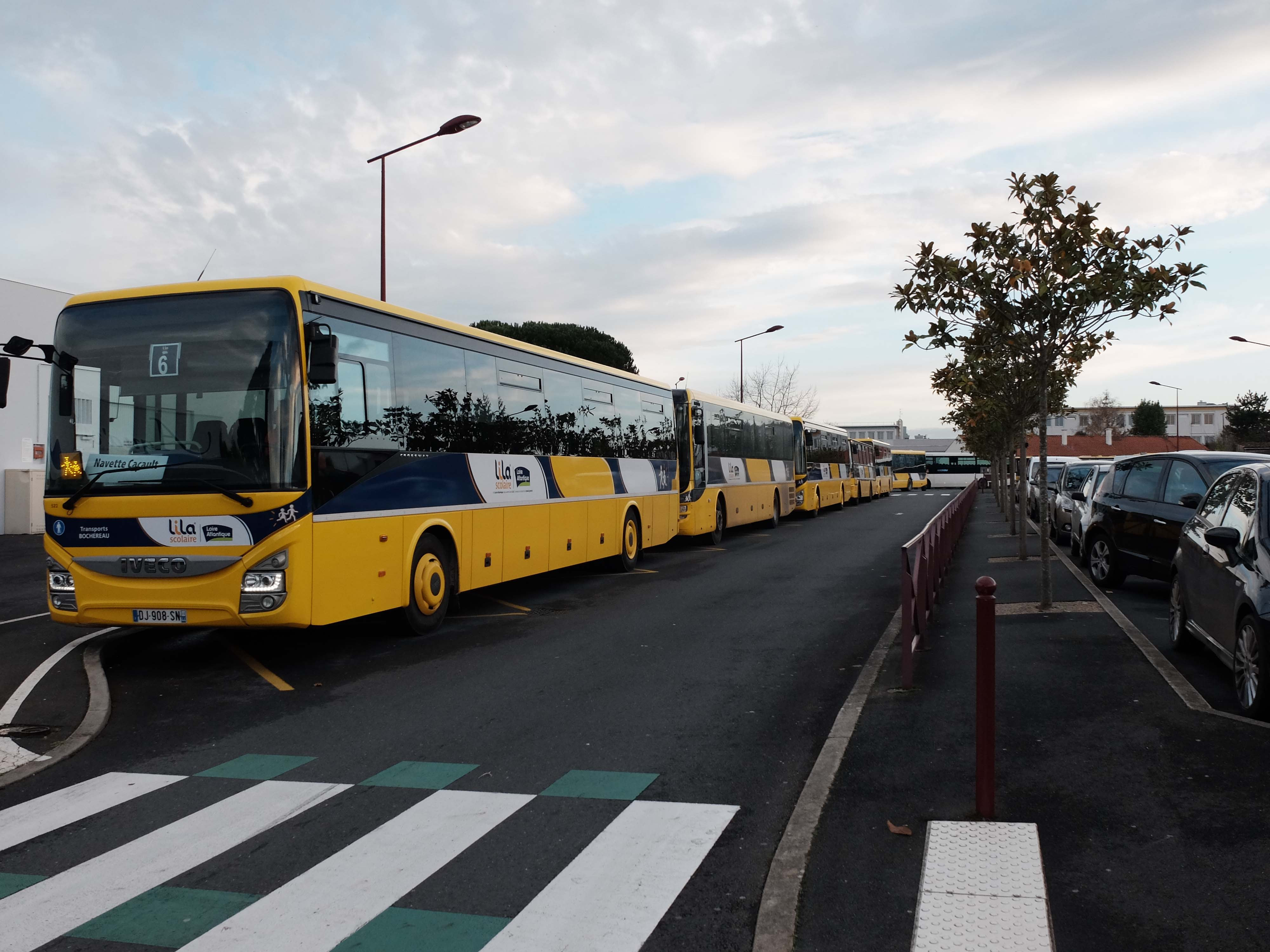 Transport scolaire Cacault