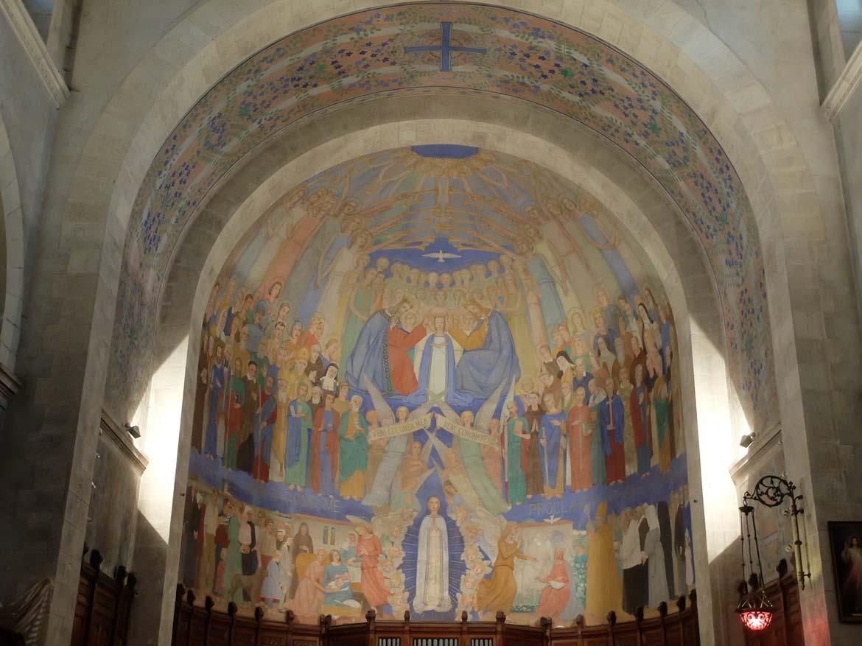 Fresque de Notre Dame