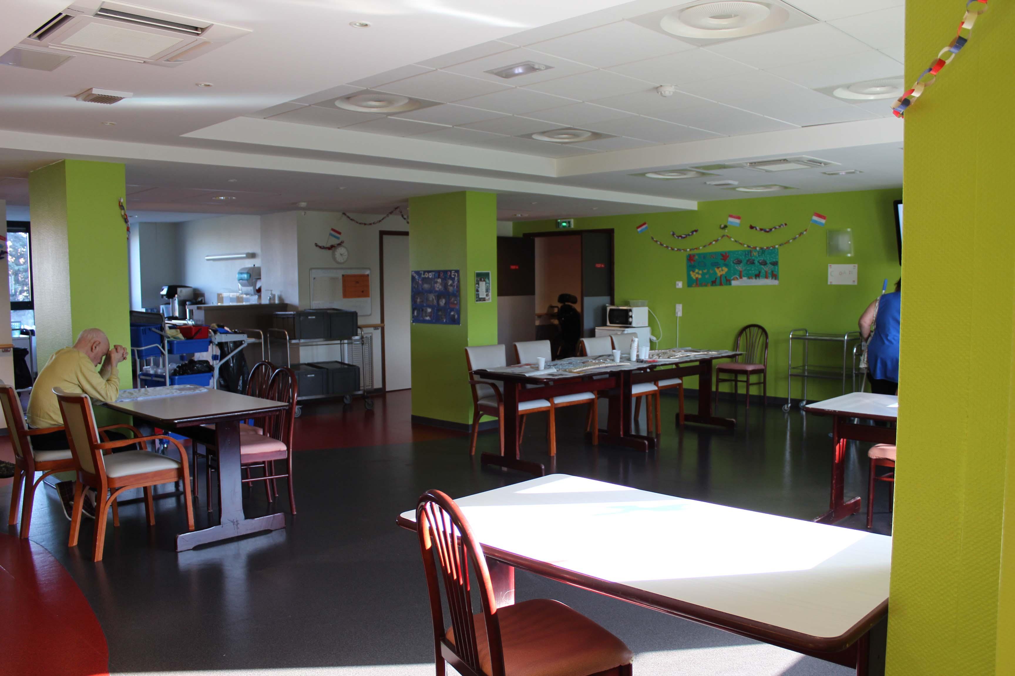 Hôpital Delaroche Salle d'Animation