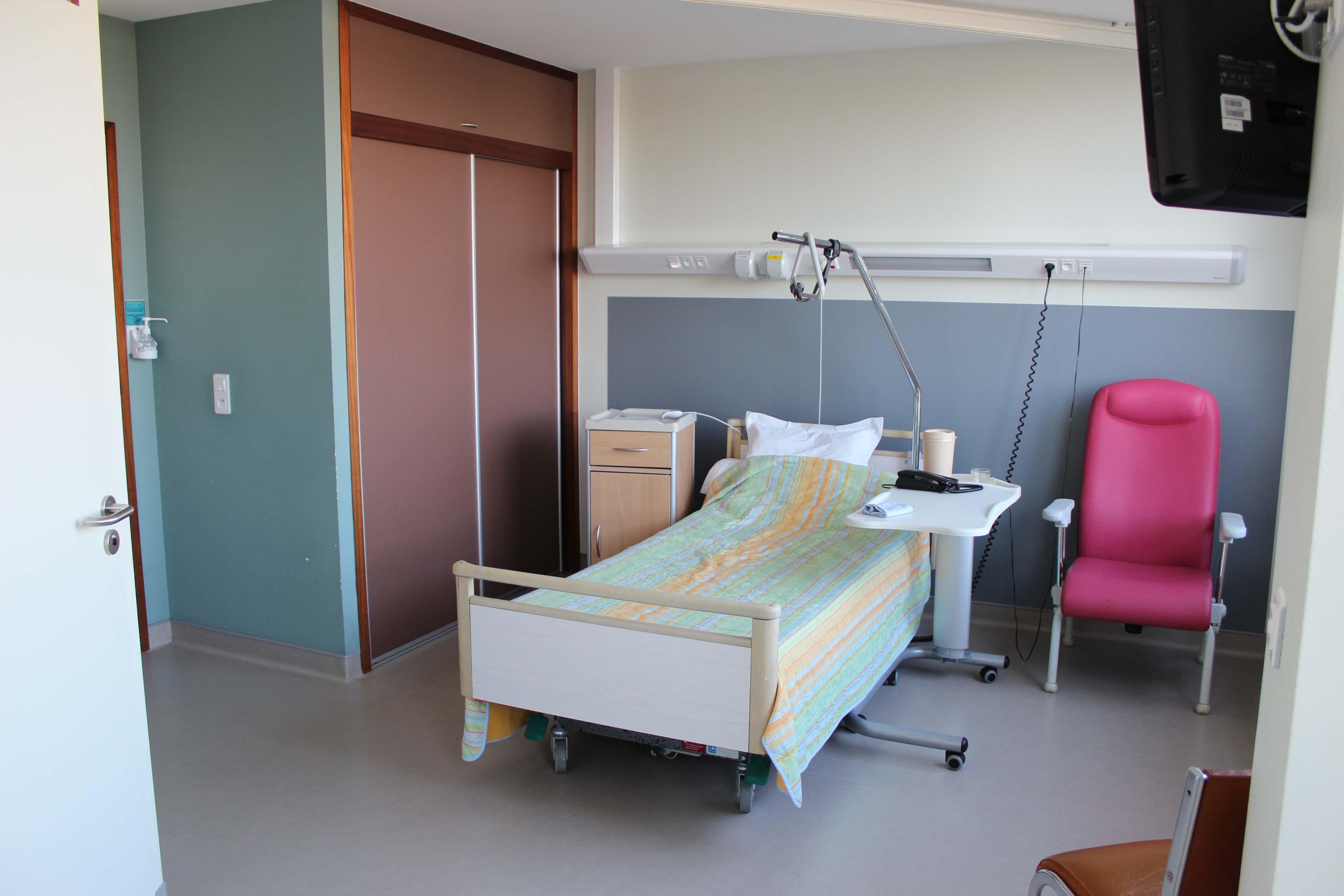 Hôpital Delaroche Une chambre