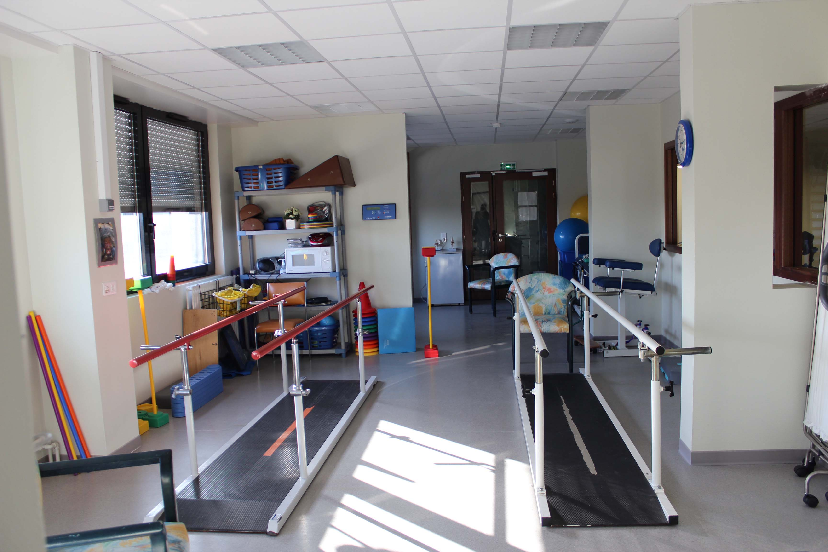 Hôpital Delaroche Salle de rééducation