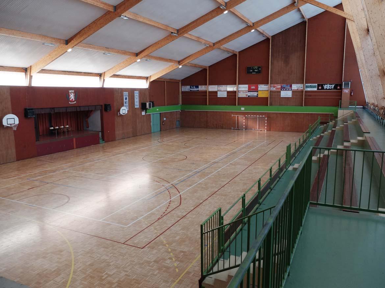La salle Bretagne Gymnase CSVM