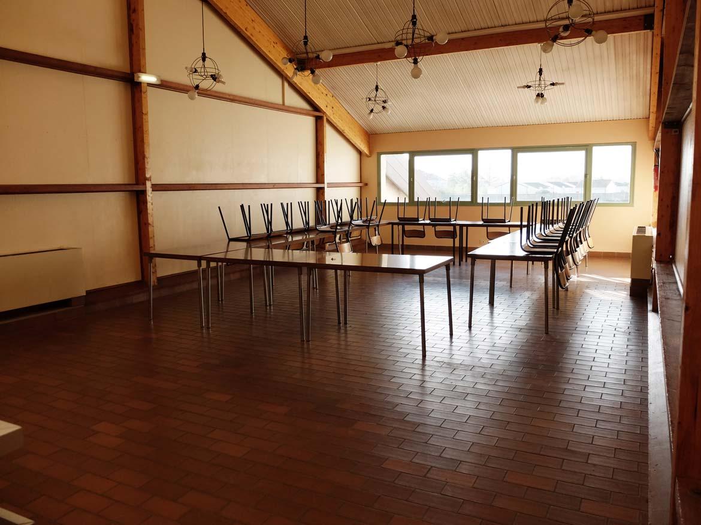 La salle de réunion Gymnase CSVM