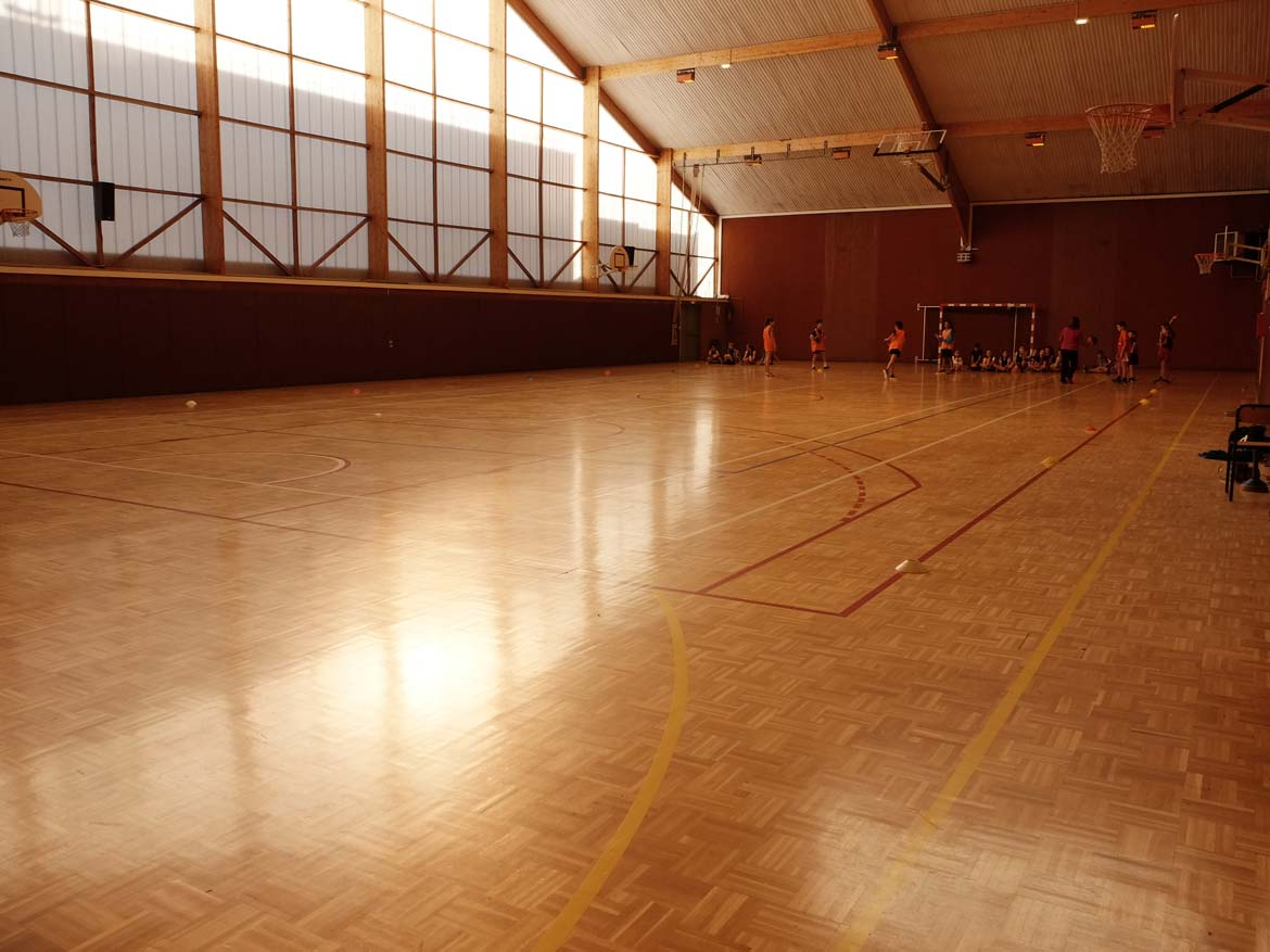 La salle Anjou Gymnase CSVM