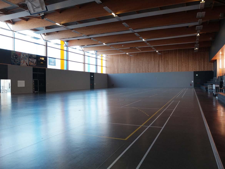 Salle de la Moine Nouveau gymnase CSVM