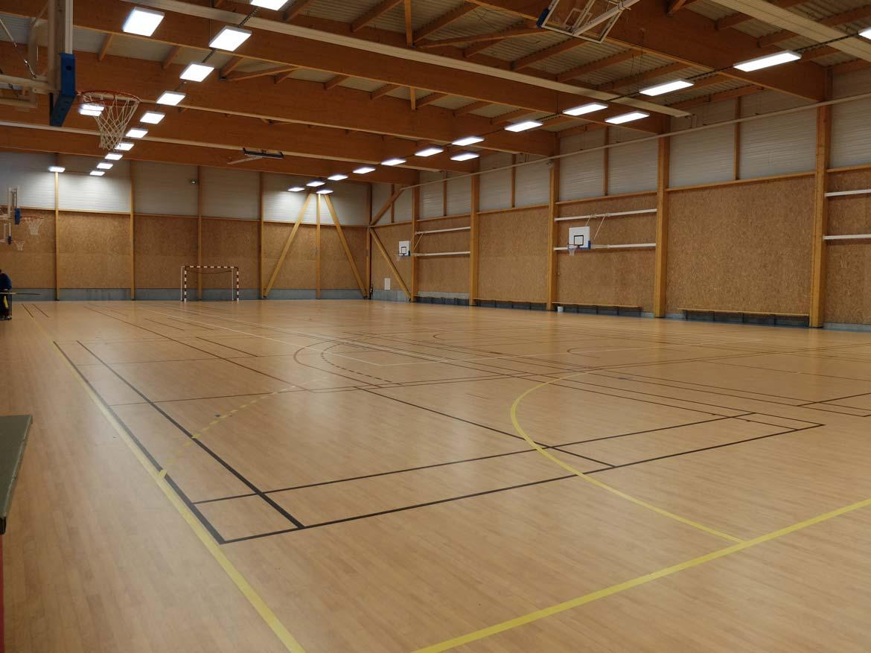 Salle Principale Gymnase de la Blairie