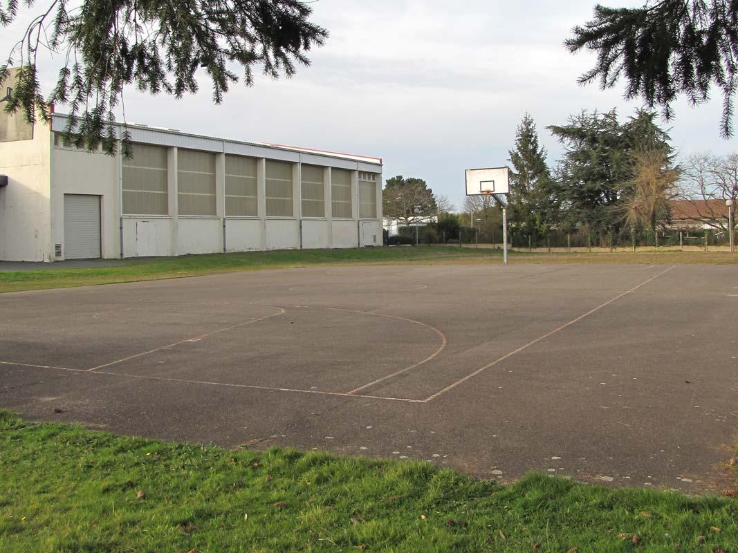 Terrains extérieurs Gymnase Cacault
